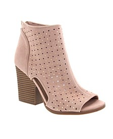 Vionna Perforated Booties