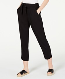 American Rag Juniors' Ruffled Tulip-Hem Soft Pants, Created for Macy's
