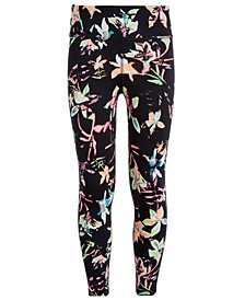 Big Girls High-Waisted Printed Leggings, Created for Macy's