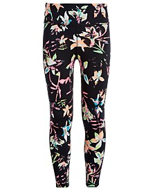 Ideology Big Girls High-Waisted Printed Leggings, Created for Macy's