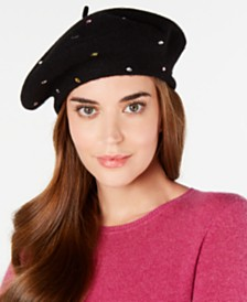 I.N.C. Jewel-Embellished Beret, Created for Macy's