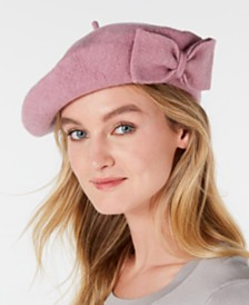 I.N.C. Bow Beret, Created for Macy's