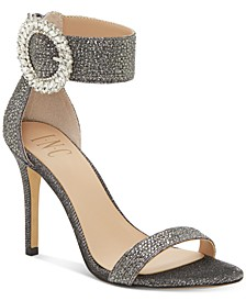 INC Women's Reyna Bling Buckle High-Heel Evening Sandals, Created for Macy's