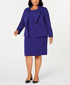 Single-Button Blazer & Sheath Dress