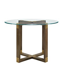 Dolly Glass Top Dining Table