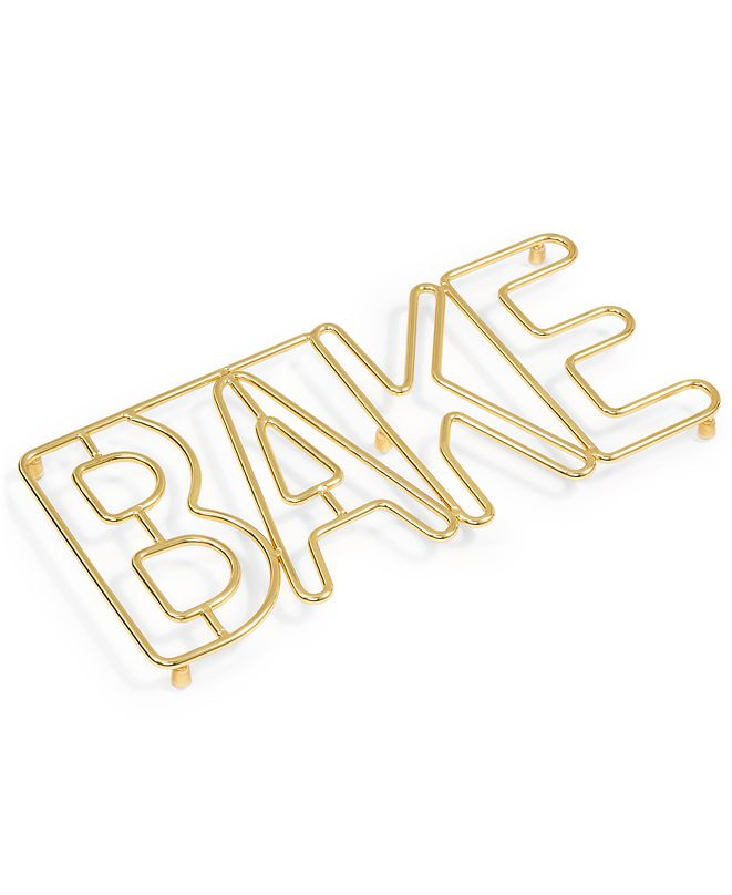Martha Stewart Collection Bake Trivet, Created for Macy's