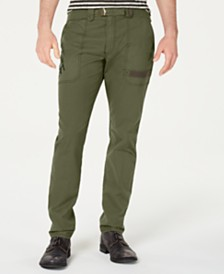 American Rag Men's Howitzer Regular-Fit Utility Pants, Created for Macy's
