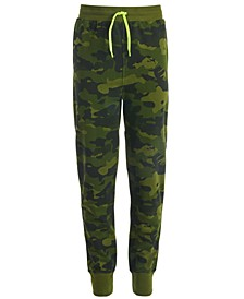 Big Boys Printed Jogger Pants, Created for Macy's