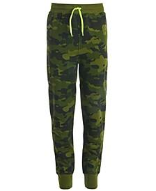 Big Boys Printed Jogger Pants, Created for Macy's