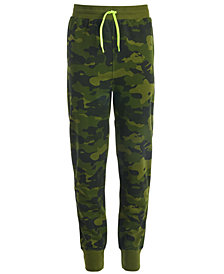 Ideology Big Boys Printed Jogger Pants, Created for Macy's