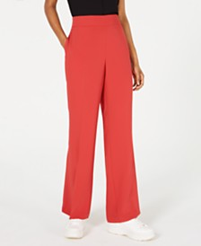 Bar III Flare-Bottom Pants, Created for Macy's