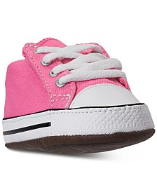 Converse Baby Girls Chuck Taylor All Star Cribster Crib Booties from Finish Line