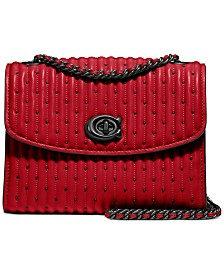 COACH Quilted P