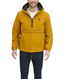 Men's Taslan Popover Logo Jacket, Created for Macy's