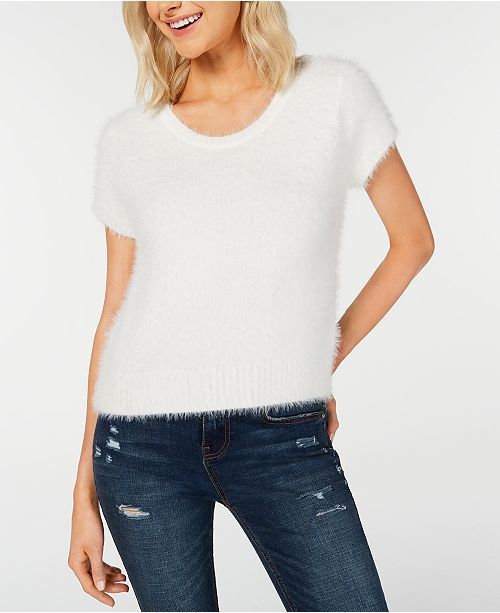Freshman Juniors' Fuzzy Sweater