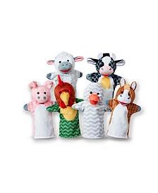 6-Piece Barn Buddies Hand Puppets