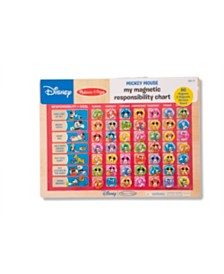 Melissa and Doug Mickey Mouse My Magnetic Responsibility Chart