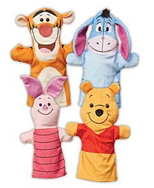 Winnie the Pooh Soft & Cuddly Hand Puppets