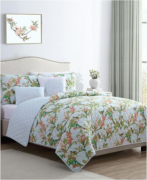 VCNY Home Chelsea Springs 5PC Queen Quilt Set