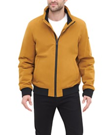 DKNY Men's All Man's Micro Fiber Bomber Jacket
