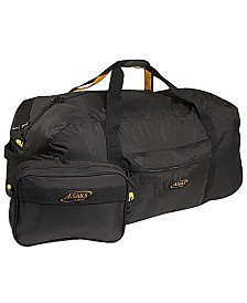 "A. Saks 36"" Duffel Bag with Pouch"
