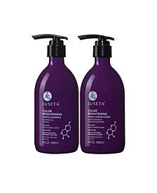 Luseta Beauty Color Brightening Purple Shampoo & Conditioner Set 33.8 Ounces
