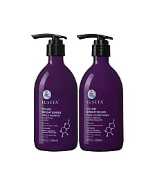 Luseta Beauty Color Brightening Purple Shampoo & Conditioner Set 33.8 Ounces
