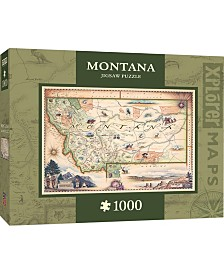 Masterpieces Montana 1000 Piece Xplorer Map Puzzle