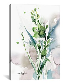 "Green Bliss I by Kathy Morton Stanion Wrapped Canvas Print - 60"" x 40"""