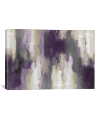 Amethyst Perspective I by Carey Spencer Wrapped Canvas Print - 18