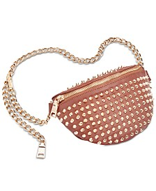 Steve Madden Spike Studded Mini Belt Bag