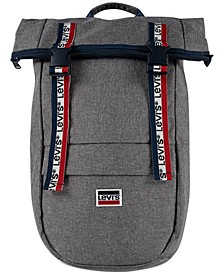 Roll-Top Logo Backpack