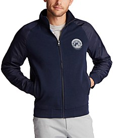Men's Blue Sail Competition Bomber Jacket, Created for Macy's