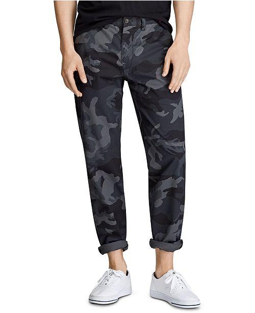 Polo Ralph Lauren Men's Cotton Stretch Twill Camo Pants