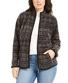 Sport Printed Zeroproof Zip Jacket, Created for Macy's