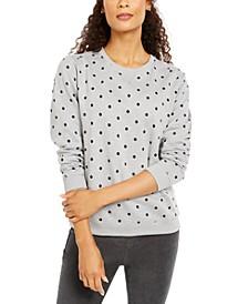 Dot-Print Sweatshirt, Created by Macy's