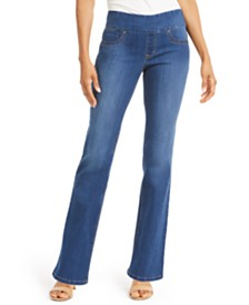 Style & Co Petite Ella Pull-On Bootcut Jeans, Created For Macy's