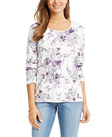 Paloma Scoop-Neck Top, Created for Macy's