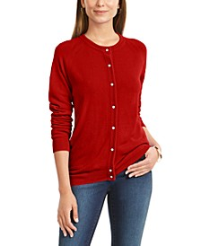 Bead-Button Cardigan, Created for Macy's