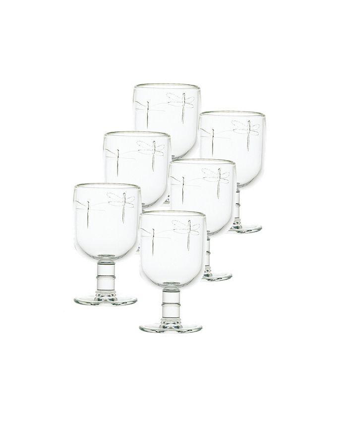 La Rochère - La Rochere Collection 6-Pc. Dragonfly Water Glasses