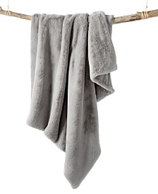 Faux Fur Throw, Created for Macy's