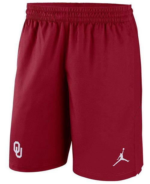 Jordan Men's Oklahoma Sooners Alpha Dry Shorts