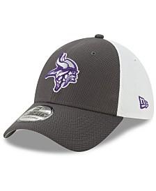 New Era Minnesota Vikings Pop Out Diamond Era 39THIRTY Cap