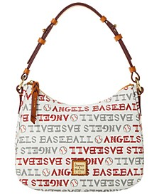 Los Angeles Angels Small Kiley Hobo Bag