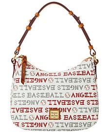 Dooney & Bourke Los Angeles Angels Small Kiley Hobo Bag