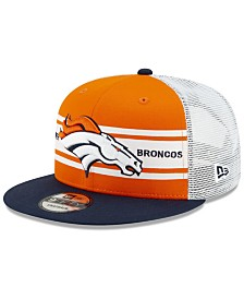 New Era Denver Broncos Classic 77 Stripe Mesh 9FIFTY Cap