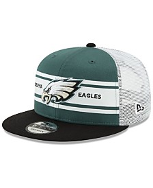 New Era Philadelphia Eagles Classic 77 Stripe Mesh 9FIFTY Cap