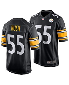 Nike Men's Devon Bush Pittsburgh Steelers Game Jersey