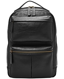 Men's Abrams Leather Sling Backpack