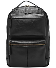 Fossil Men's Abrams Leather Sling Backpack